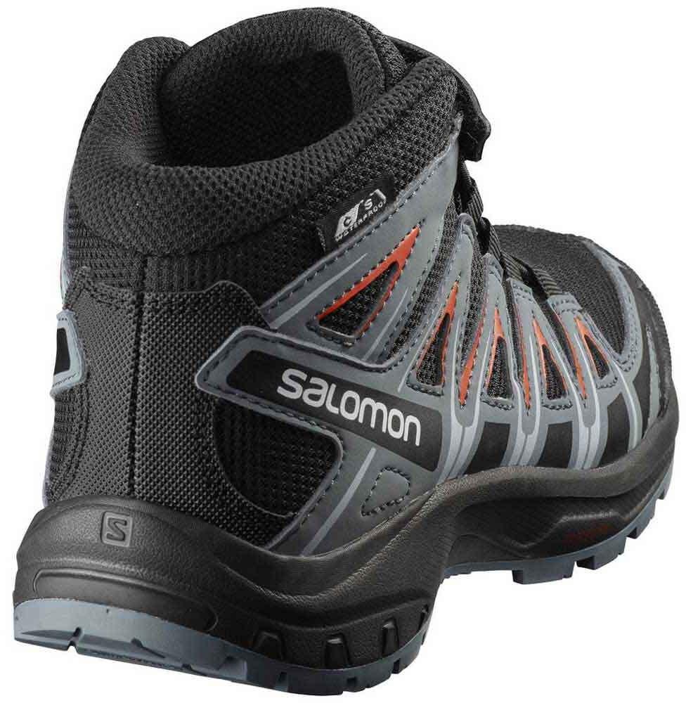 ffe8754229d Salomon XA Pro 3D Mid CSWP Shoes Children grey/black at Addnature. salomon  xa